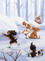 Puppies on Ice