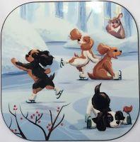 Puppies on Ice Coaster